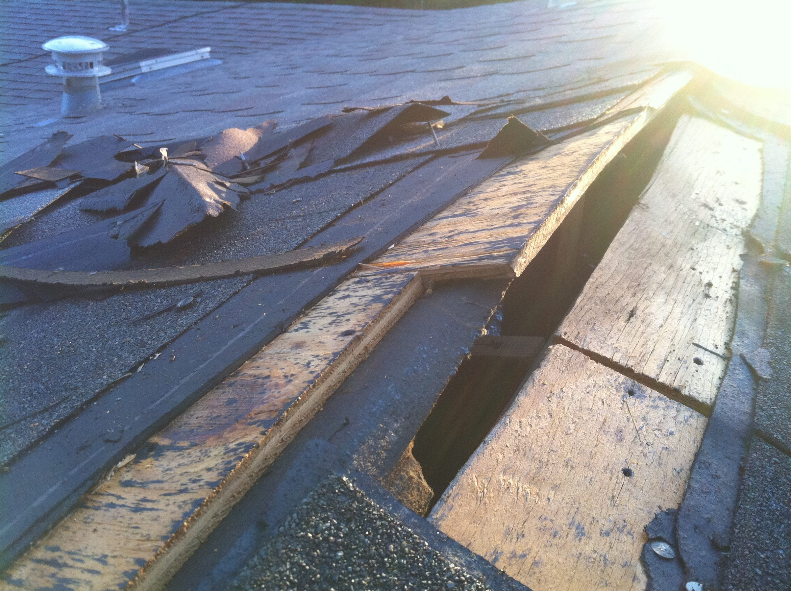 Roof Damage Caused By Foundation Problems